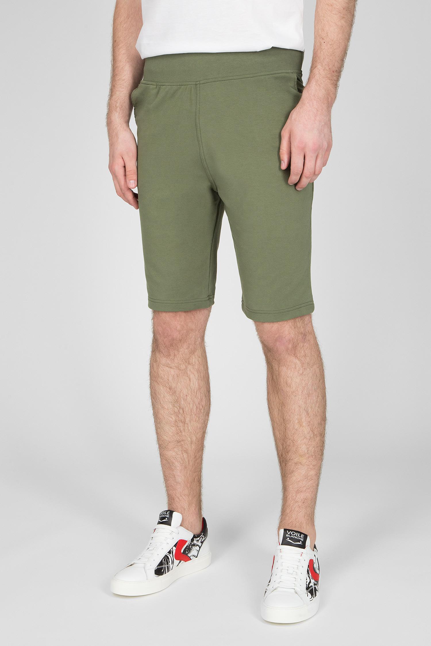 Мужские зеленые шорты Le Coq Sportif