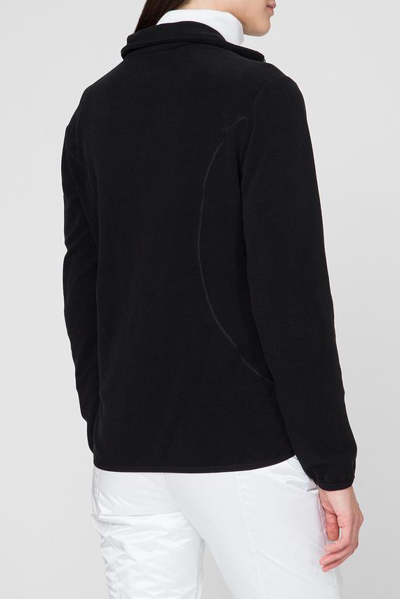 Женская черная спортивная кофта