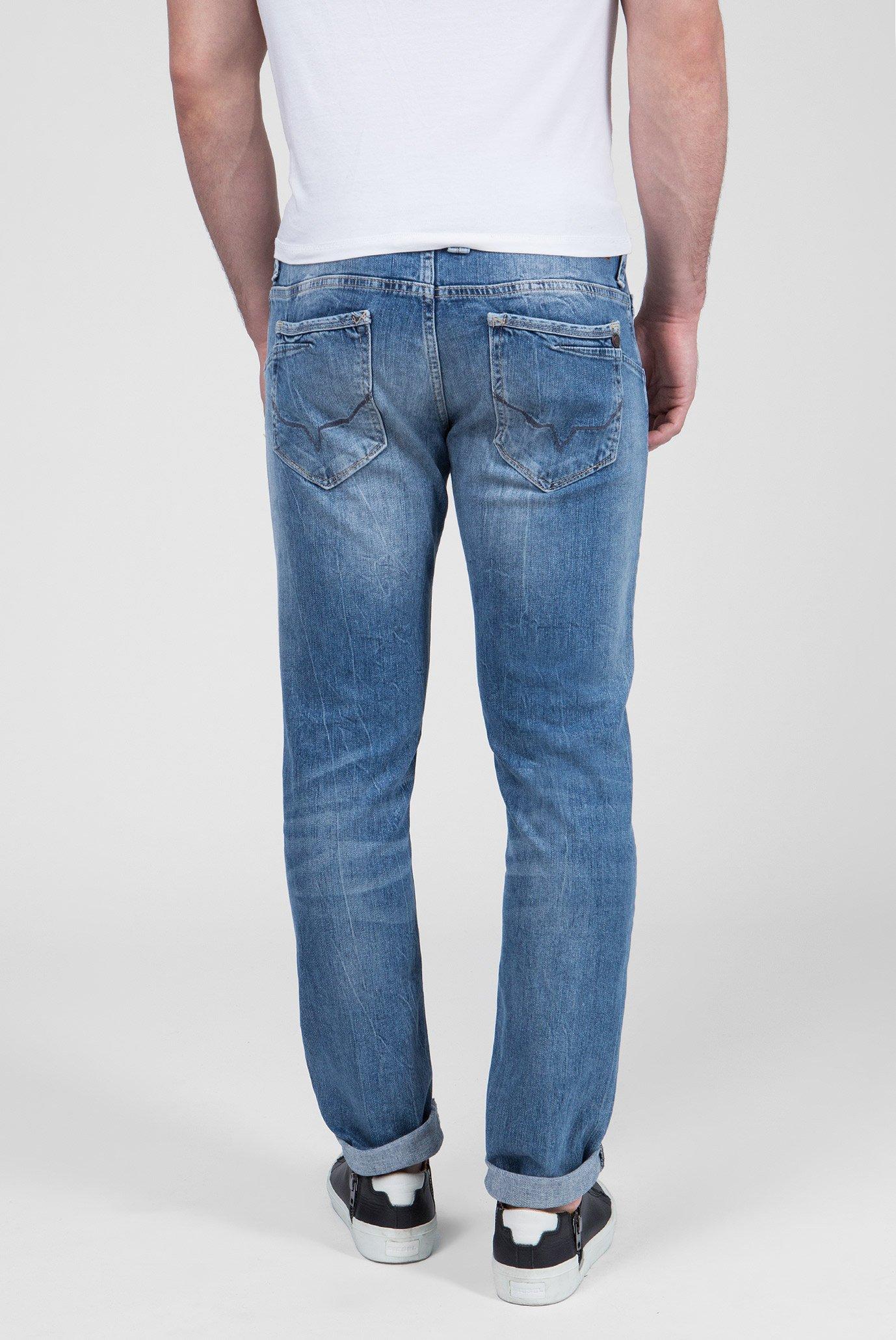 Купить Мужские голубые джинсы ZINC Pepe Jeans Pepe Jeans PM201519GI72 – Киев, Украина. Цены в интернет магазине MD Fashion