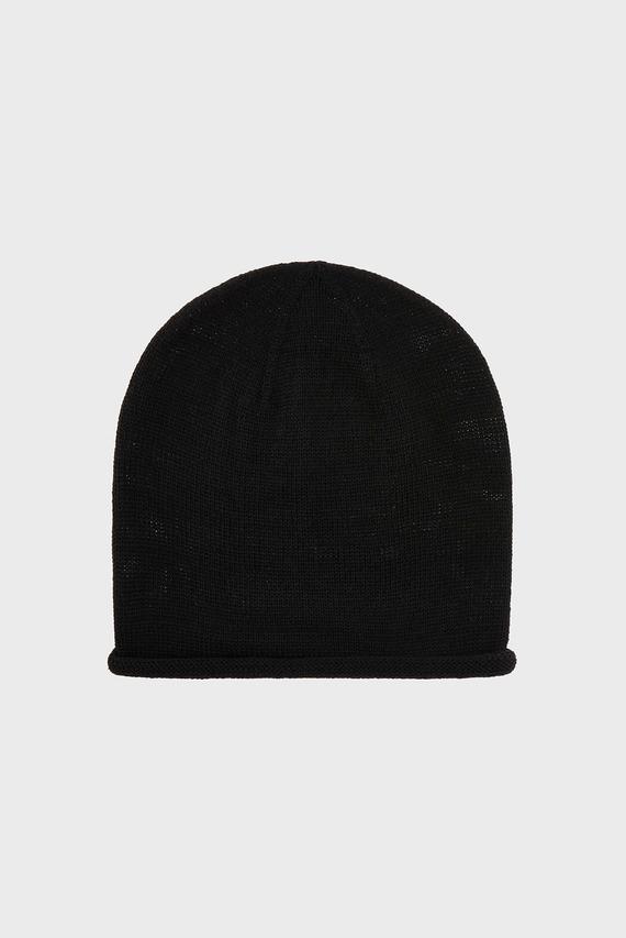 Женская черная шапка WB BAGGY BEANIE