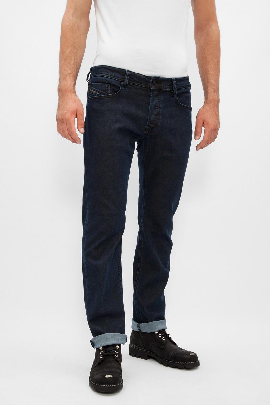 Мужские темно-синие джинсы WAYKEE