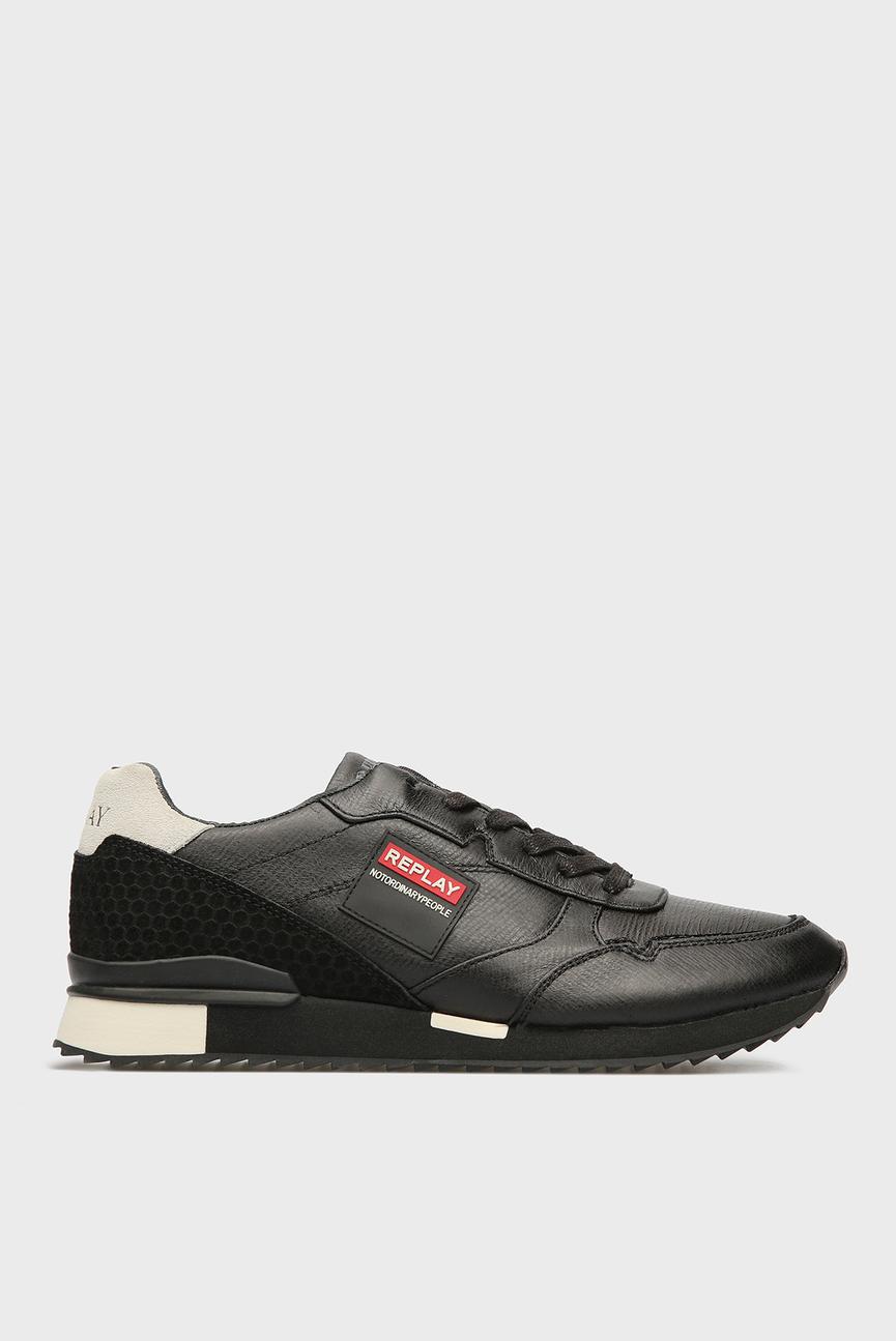 Мужские черные кроссовки FEVEM