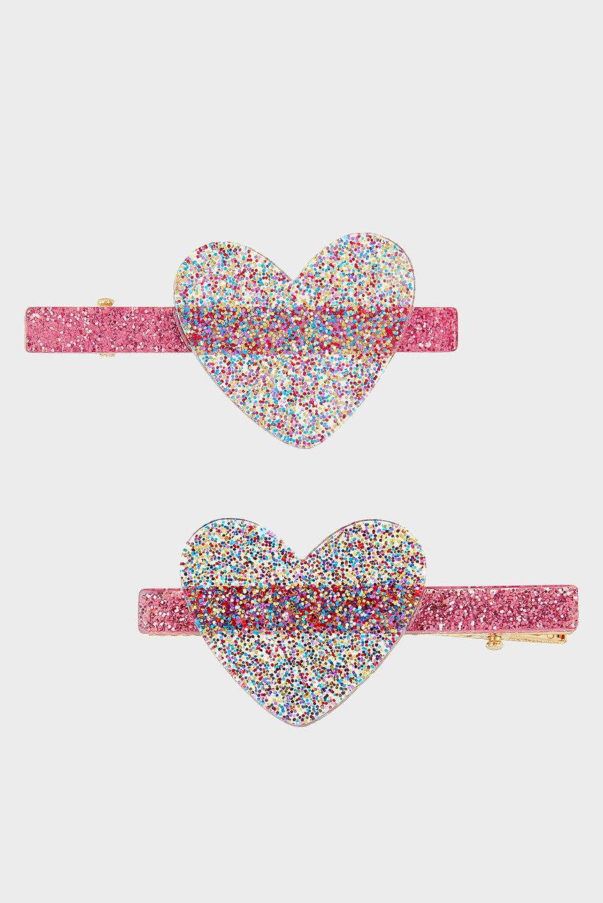 Детская заколка (2 шт.) 2 x Glitter Rainbow