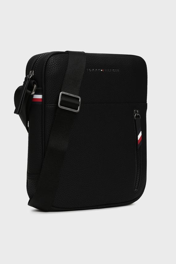 Мужская черная сумка через плечо ESSENTIAL