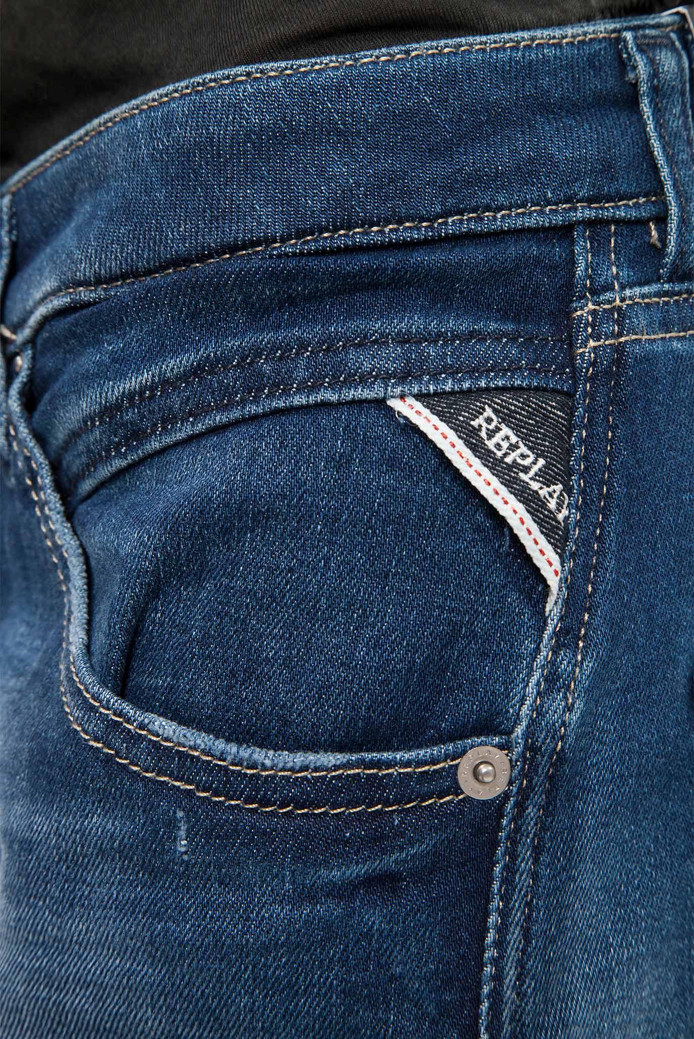 Купить Женские синие джинсы PILAR ANKLE ZIP Replay Replay WBA698.000.97C 163 – Киев, Украина. Цены в интернет магазине MD Fashion
