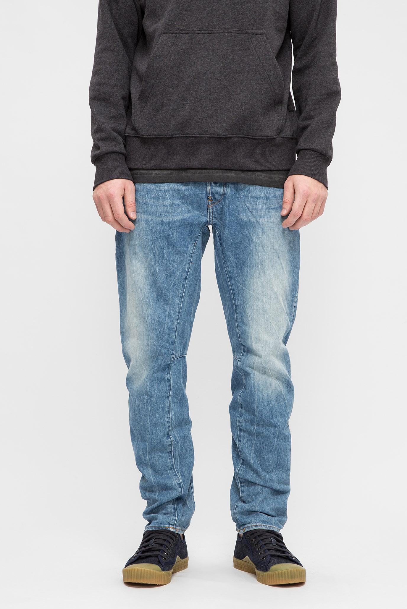 Мужские синие джинсы A Crotch 3D Tapered 1