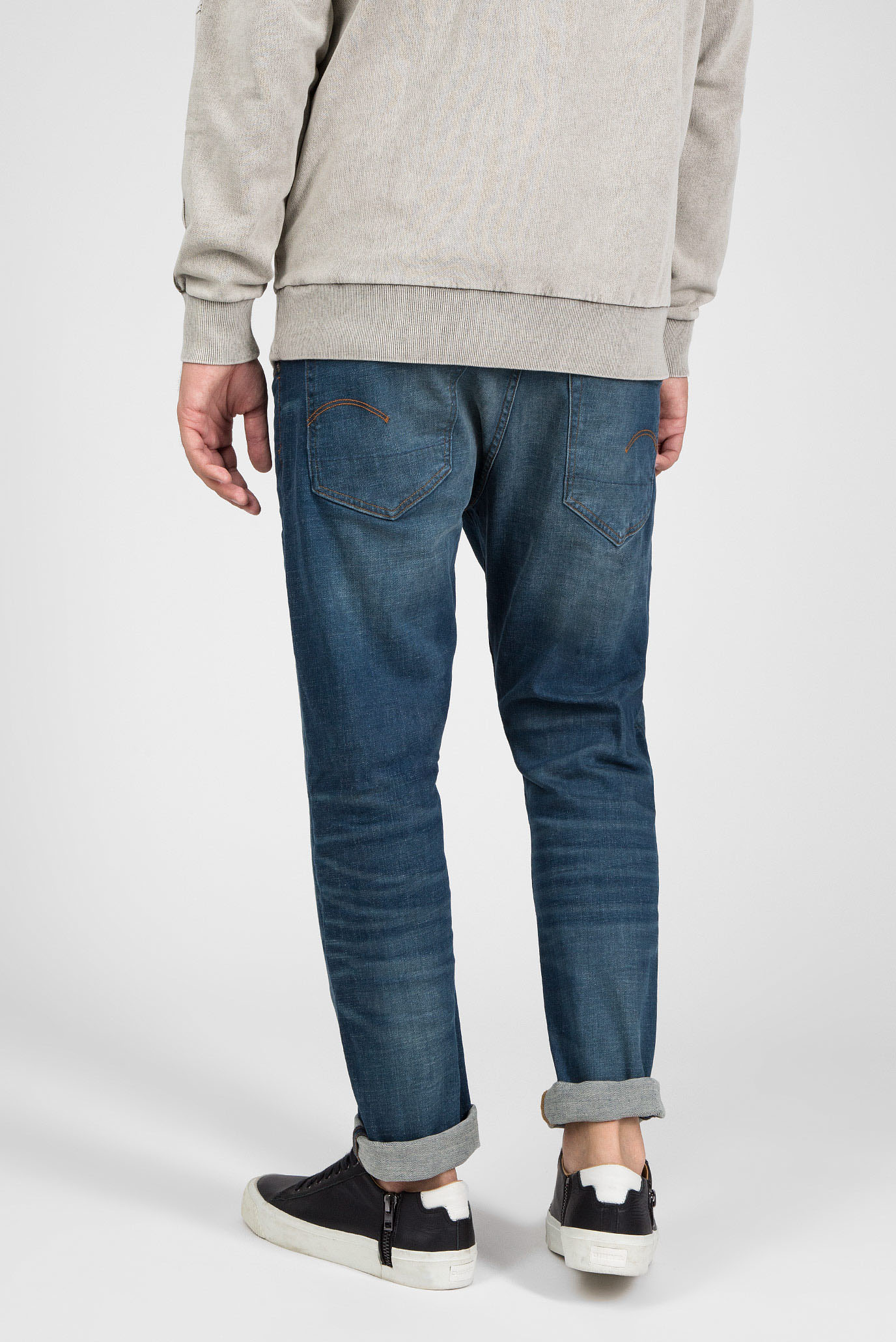Купить Мужские синие джинсы Slim G-Star RAW G-Star RAW 51001,9118 – Киев, Украина. Цены в интернет магазине MD Fashion