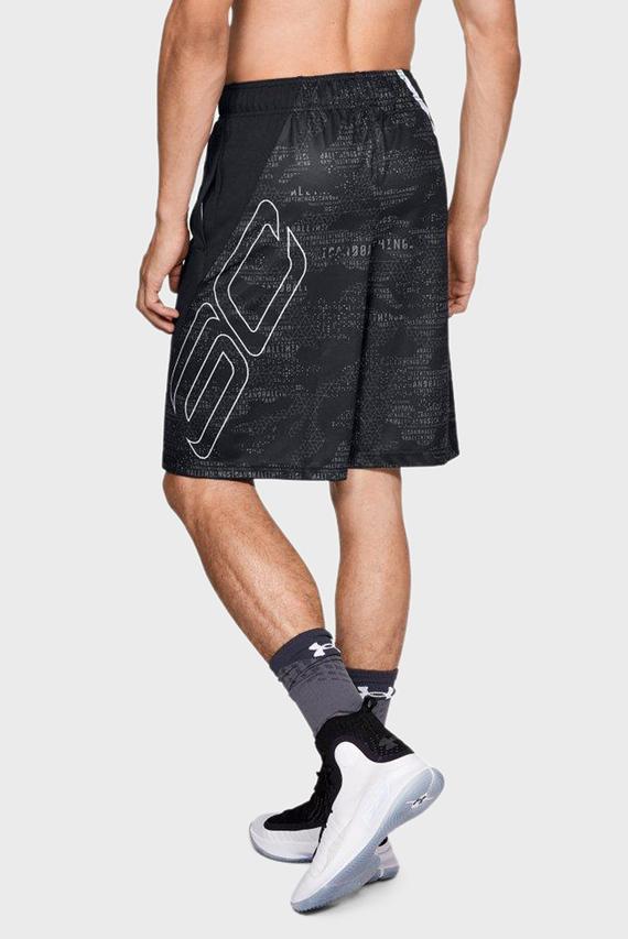 Мужские черные шорты UA Curry 11in