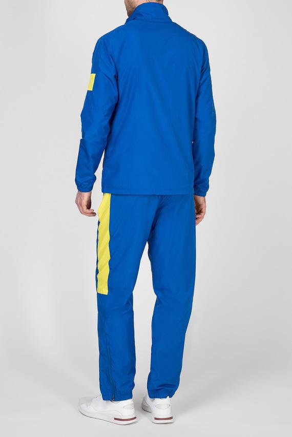 Мужской синий спортивный костюм (ветровка, брюки)