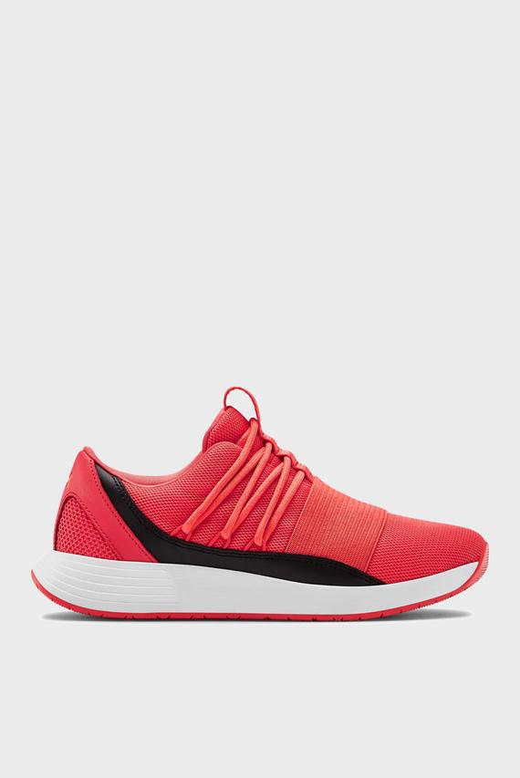 Женские красные кроссовки UA W Breathe Lace Glitz