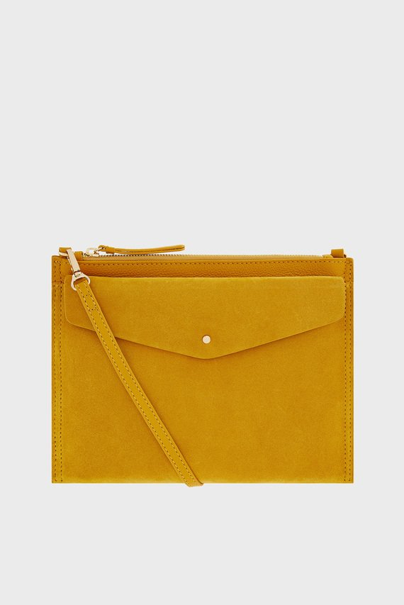 Женская сумка через плечо IRIS LEATHER CROSS BODY BAG