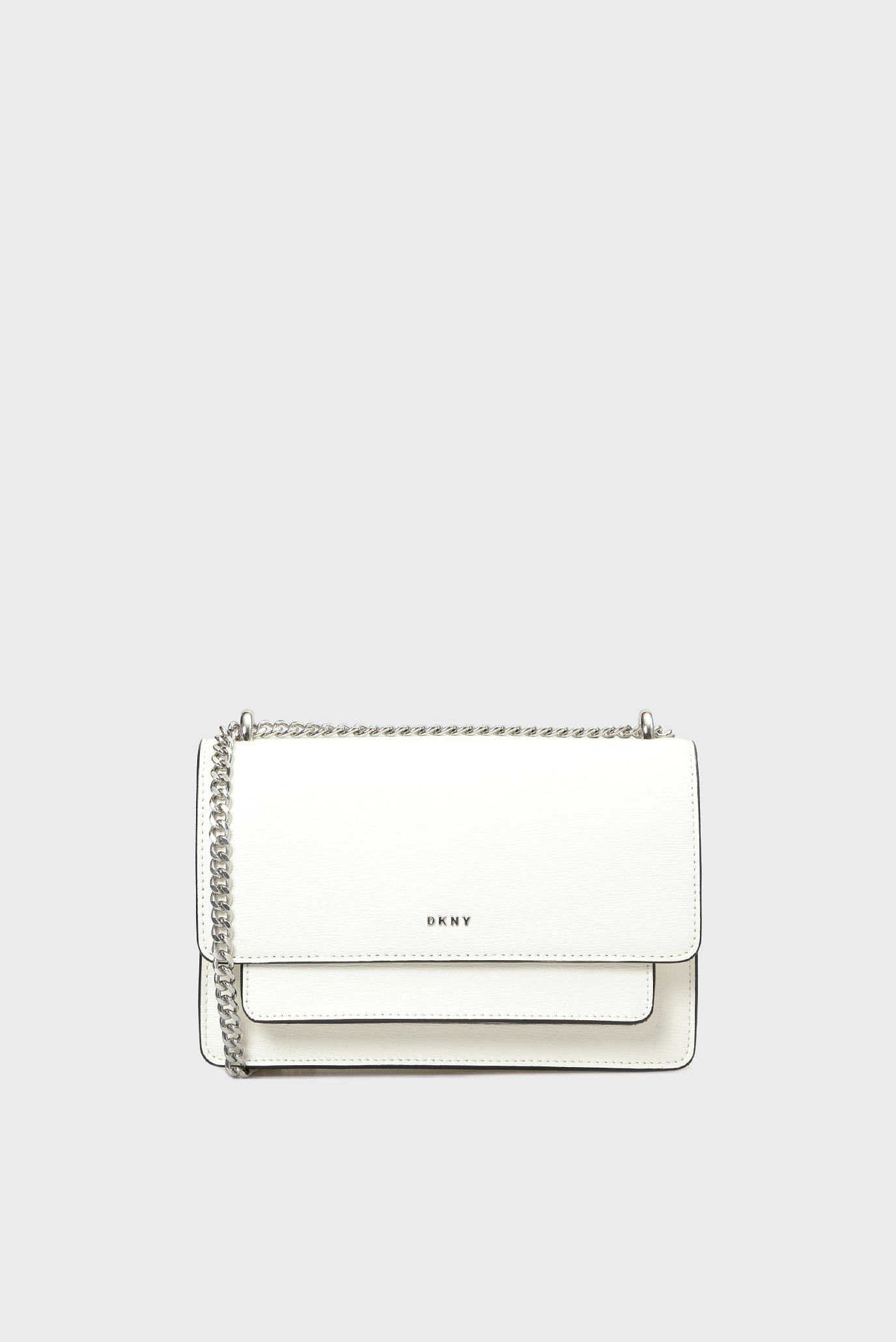 575a9dcd4134 Купить Женская белая кожаная сумка через плечо BRYANT-SM DKNY DKNY R91E3A90  – Киев, Украина. Цены в интернет магазине MD Fashion