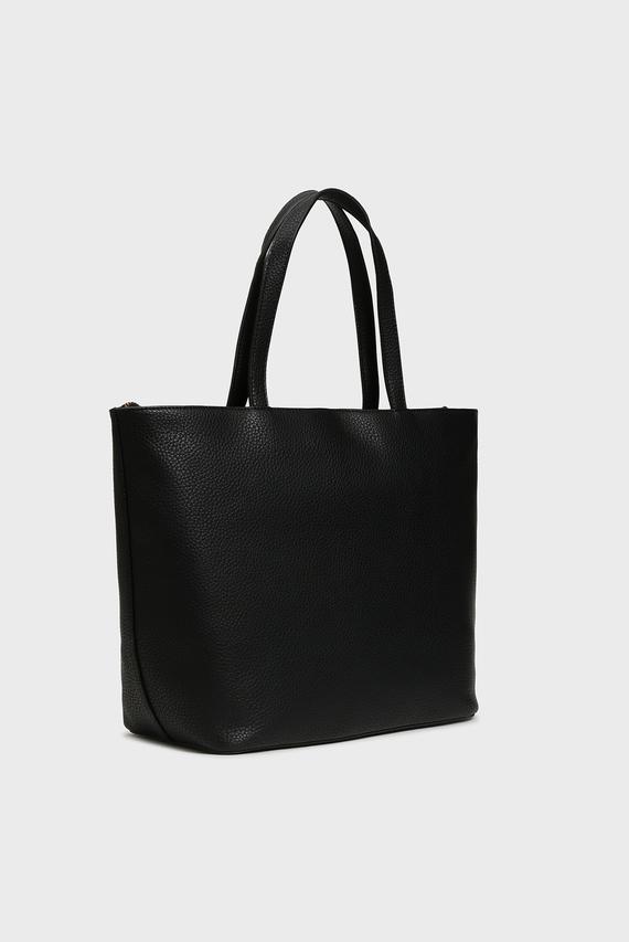 Женская черная сумка на плечо ARMY
