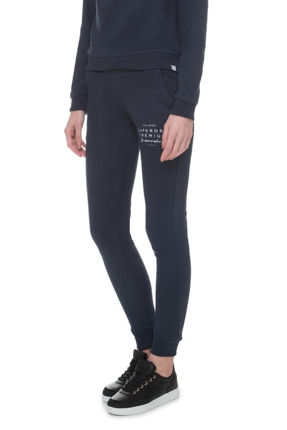 Женские синие спортивные брюки