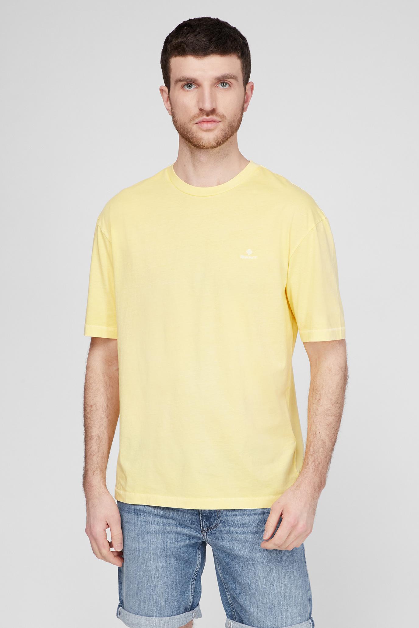 Чоловіча жовта футболка SUNFADED 1