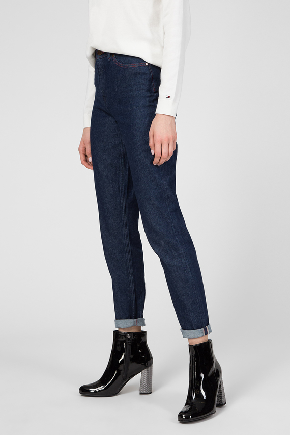 Женские темно-синие джинсы GRAMERCY TAPERED