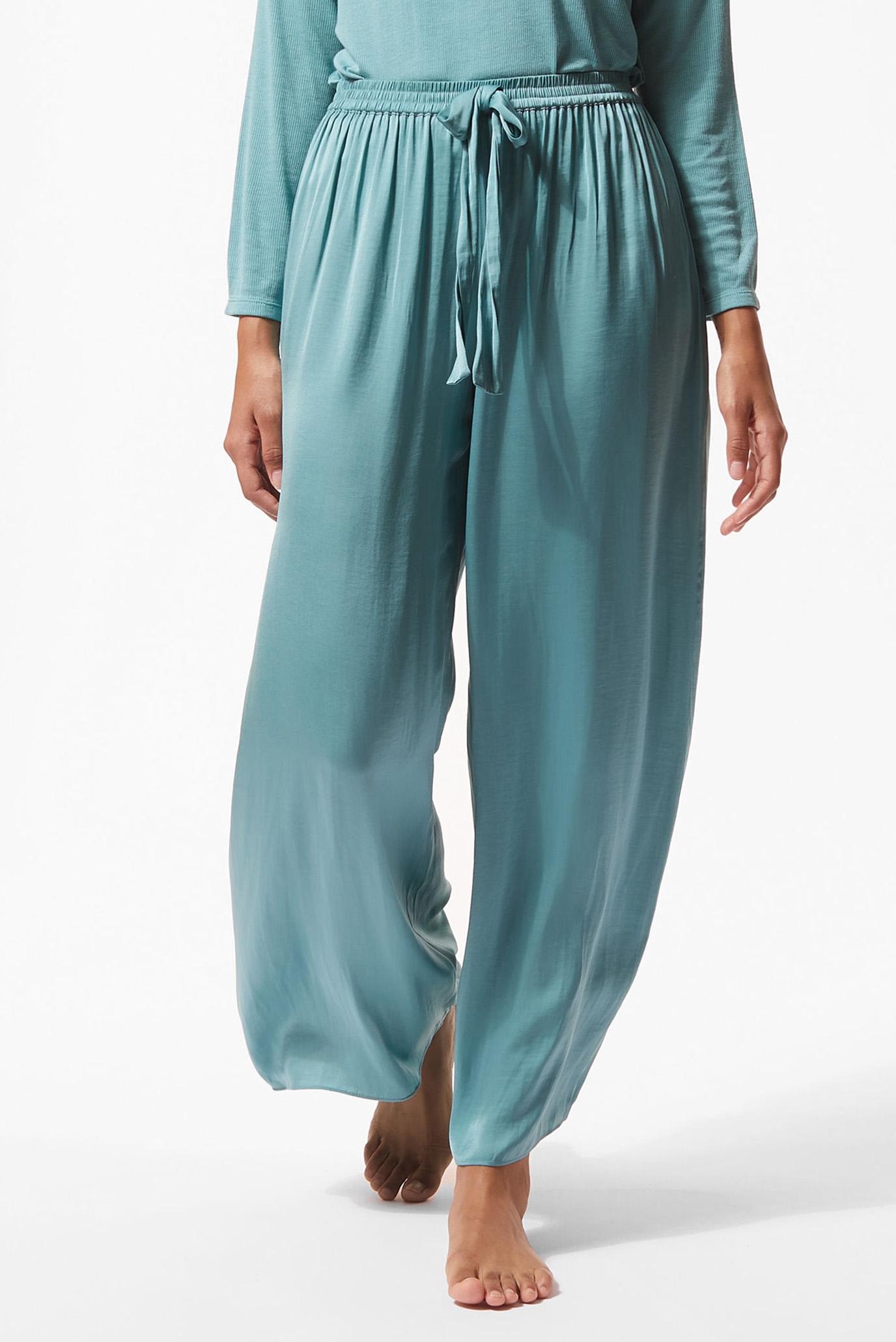 Женские бирюзовые брюки MALLY 1
