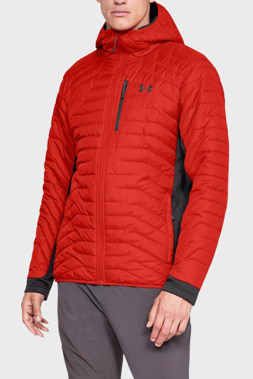 Мужская красная куртка UA CG Reactor Hybrid