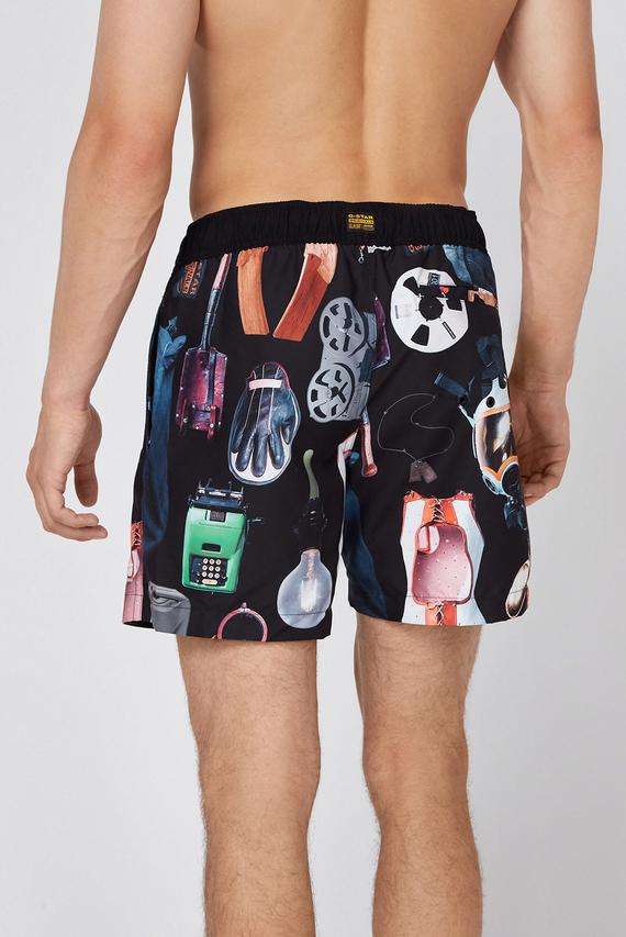 Мужские плавательные шорты с принтом Dirik
