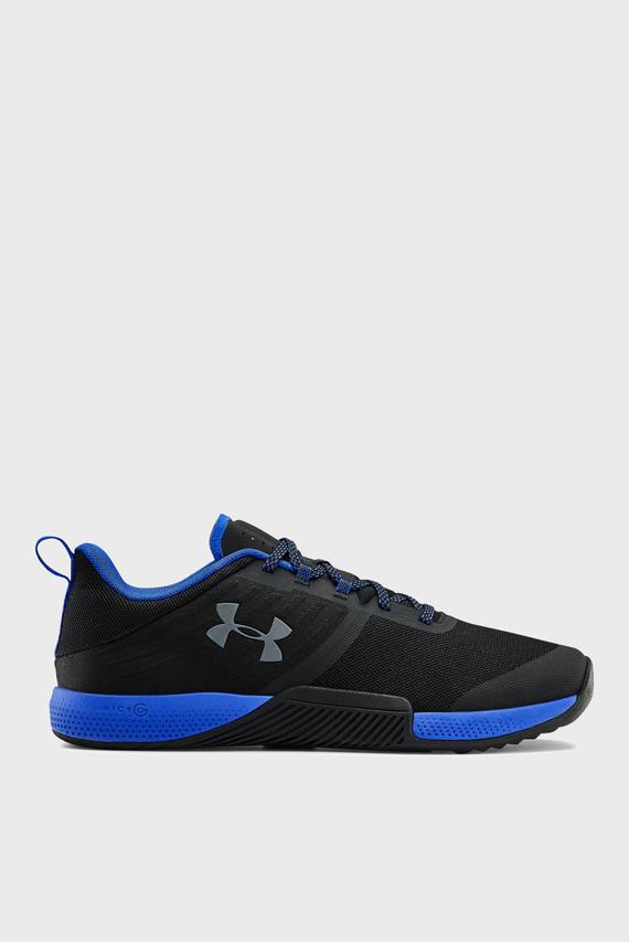 Мужские черные кроссовки UA TriBase Thrive-BLK