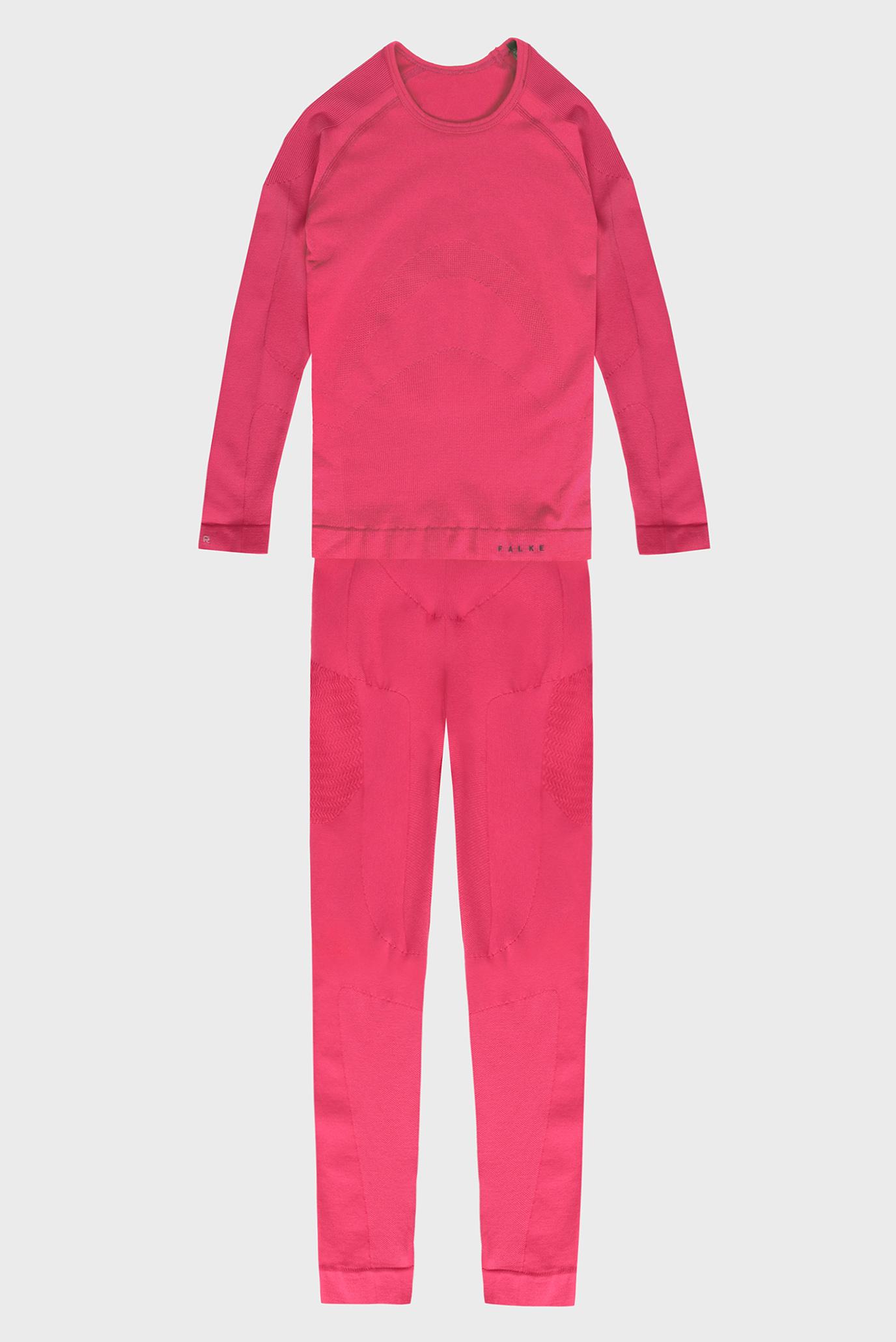 Дитяча рожева термобілизна (лонгслів, брюки) Maximum Warm 1