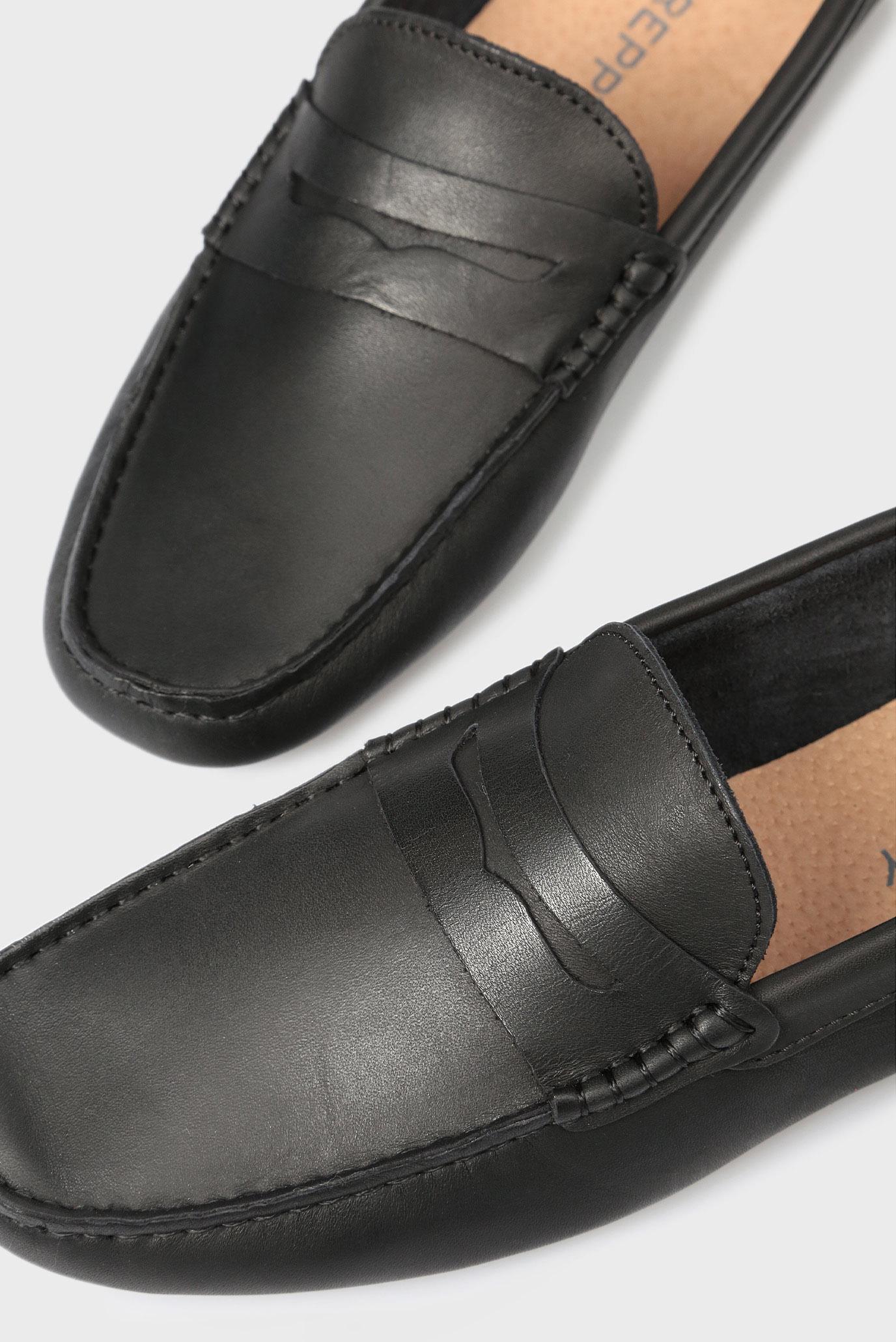 Купить Мужские черные кожаные мокасины Preppy Preppy 6.34.32320.403 – Киев, Украина. Цены в интернет магазине MD Fashion
