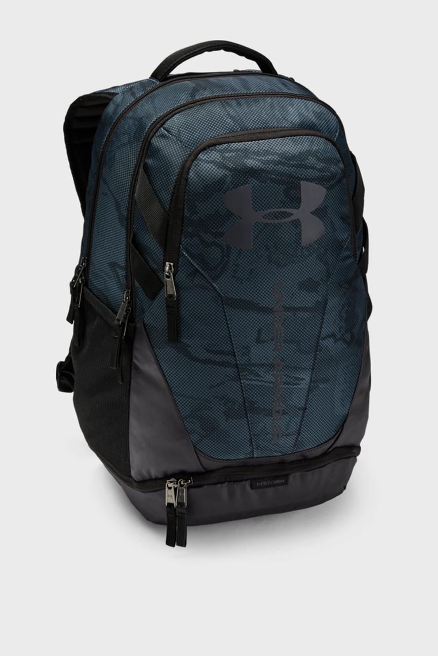 Синий рюкзак унисекс UA Hustle 3.0