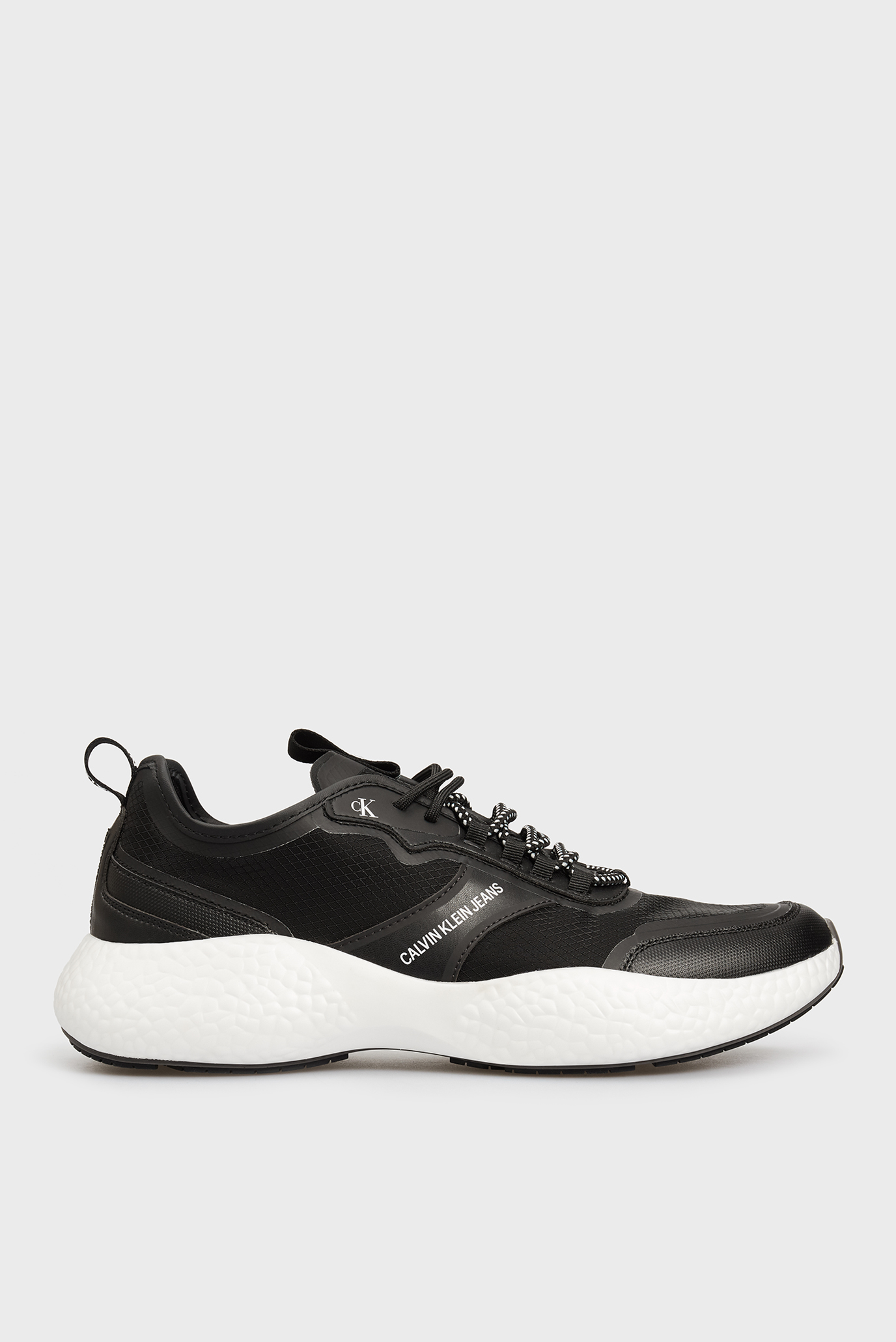 Чоловічі чорні кросівки LACEUP PU-NY 1