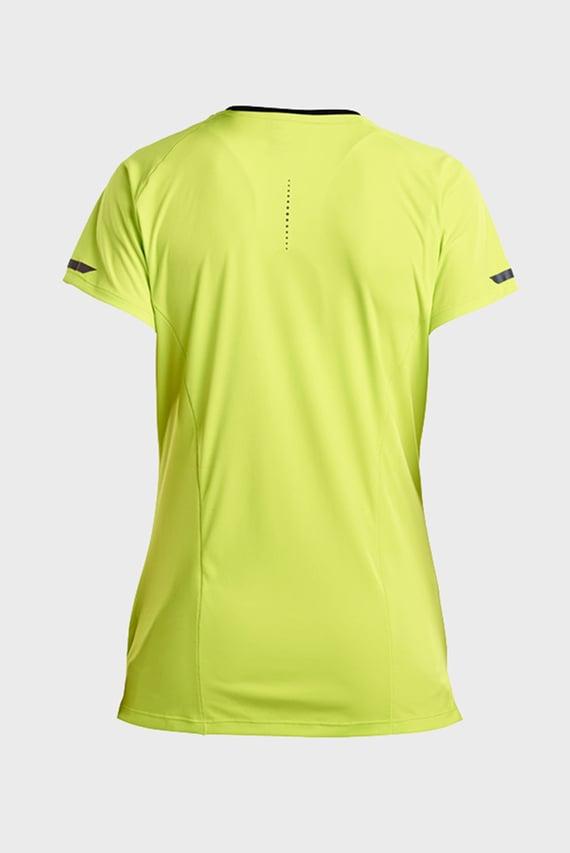 Женская желтая футболка UV LITE SHORT SLEEVE