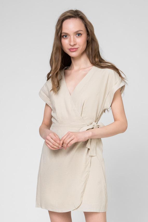 Женское бежевое платье JULIETA