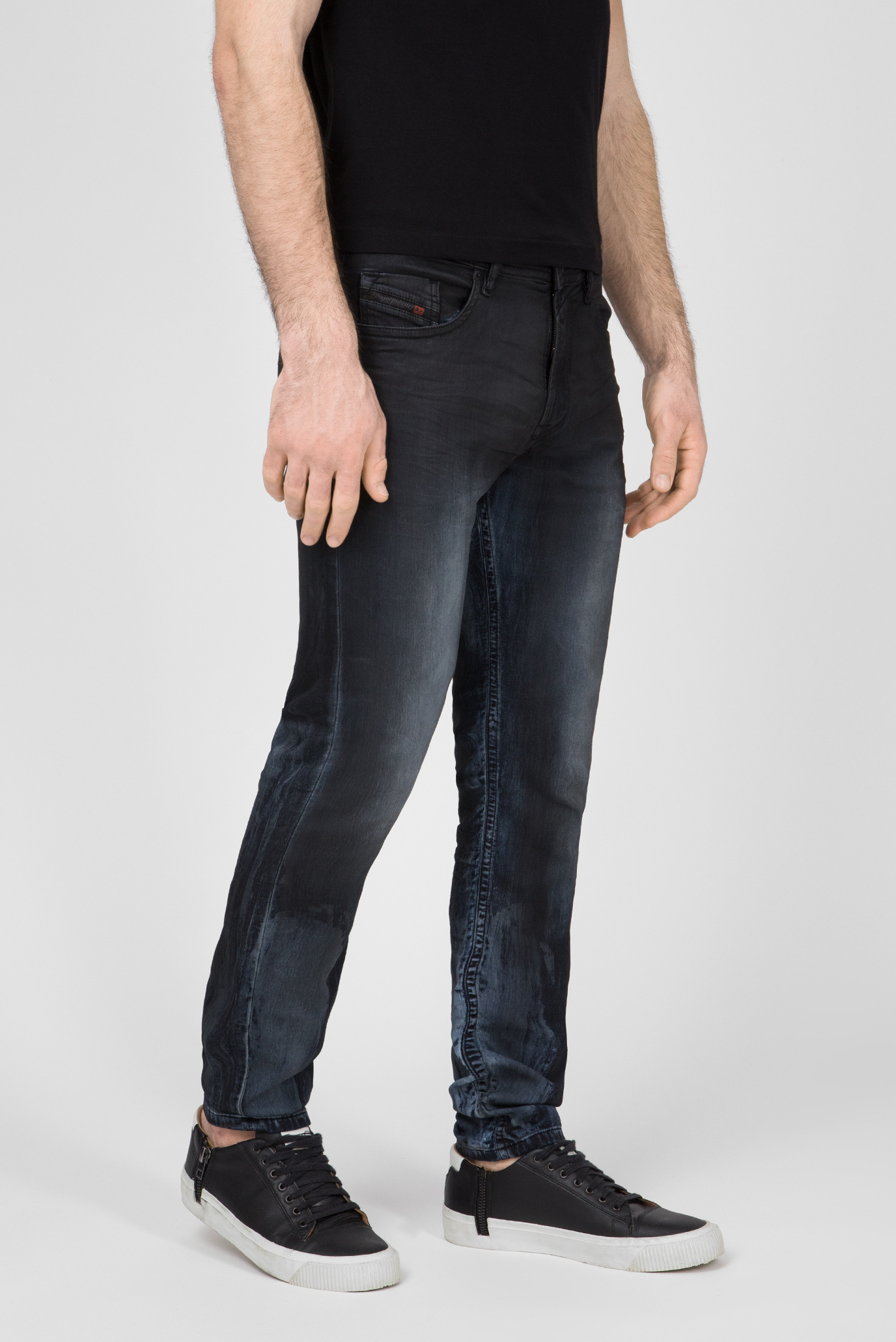 Купить Мужские темно-синие джинсы THOMMER CB-NE Sweat Jeans Diesel Diesel 00S8MK 086AZ – Киев, Украина. Цены в интернет магазине MD Fashion