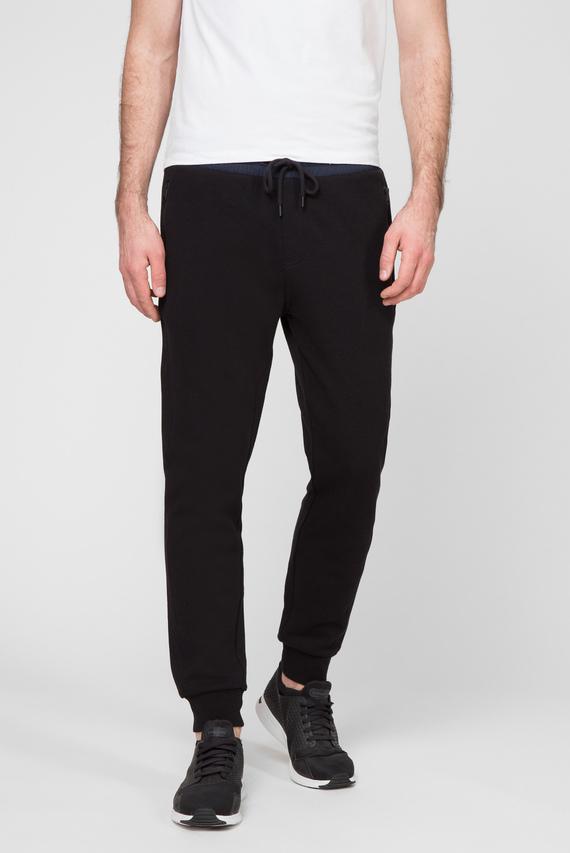 Мужские черные спортивные брюки MIX MEDIA INTERLOCK BDS