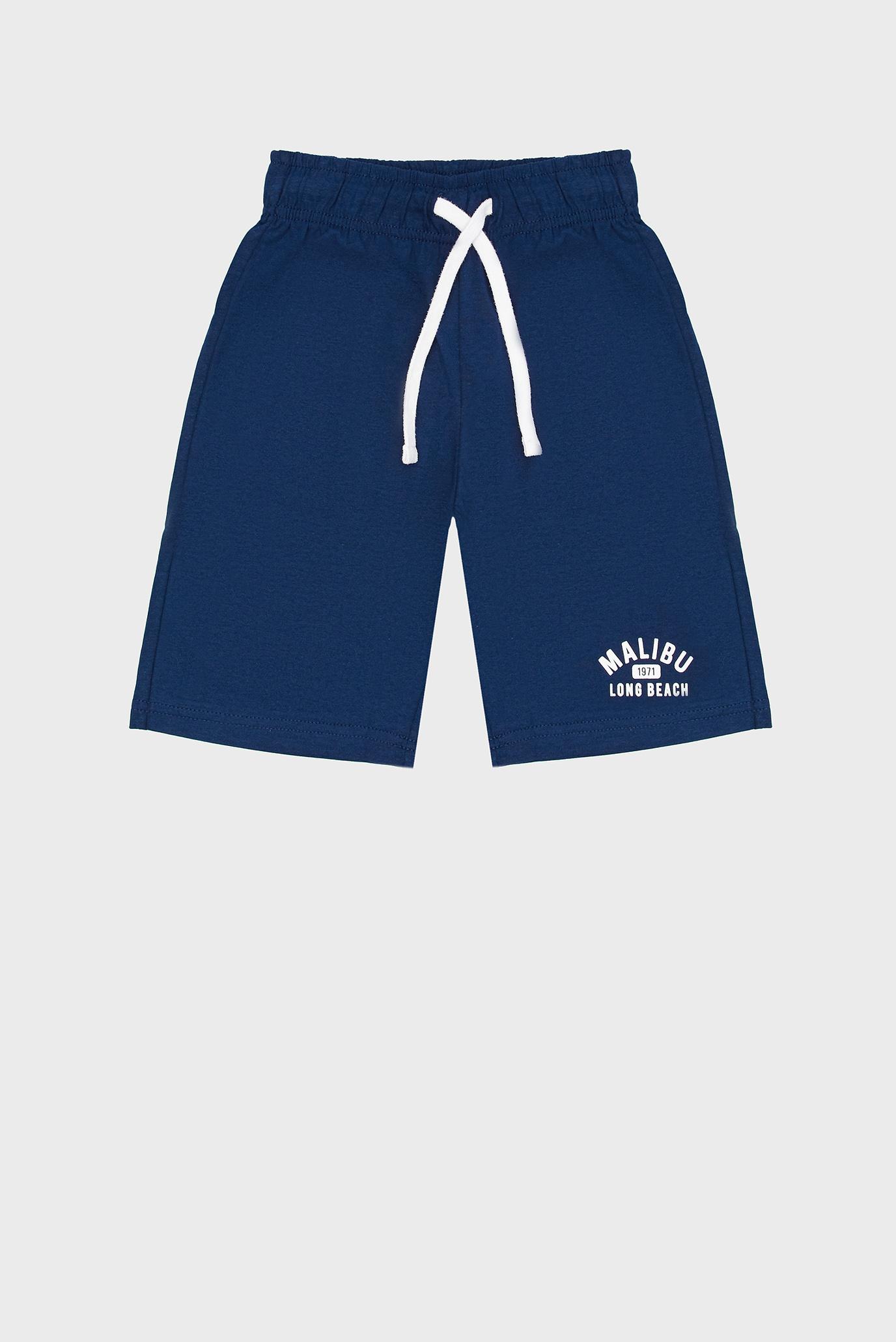 Детские темно-синие шорты 1