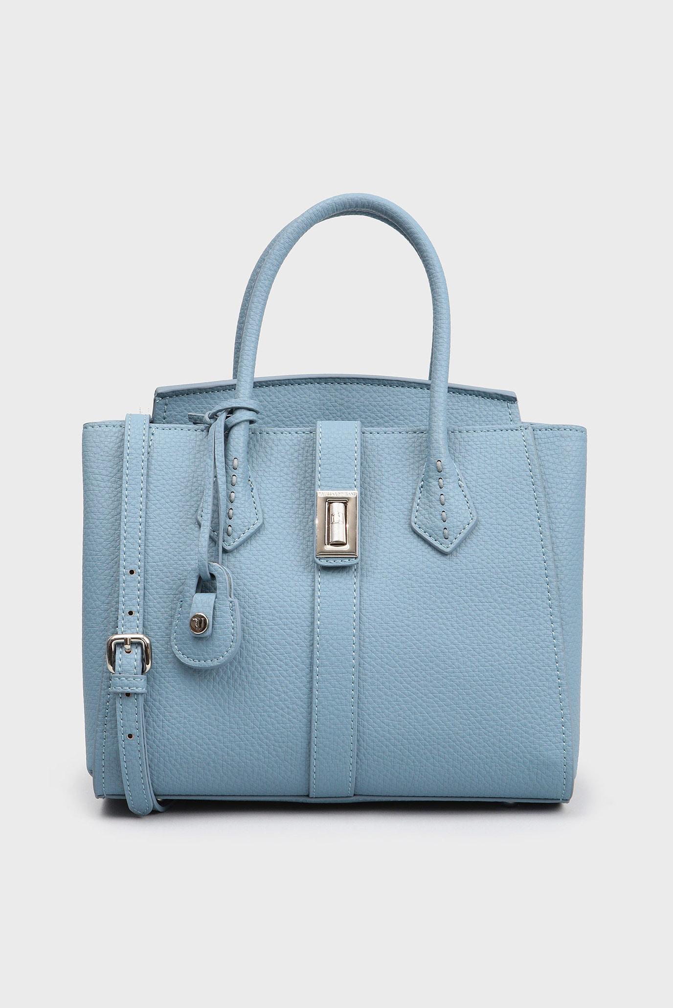 bcf63202b6a5 Купить Женская голубая сумка на плечо Trussardi Jeans Trussardi Jeans  1Y000031/75B00160 – Киев, Украина. Цены в ...