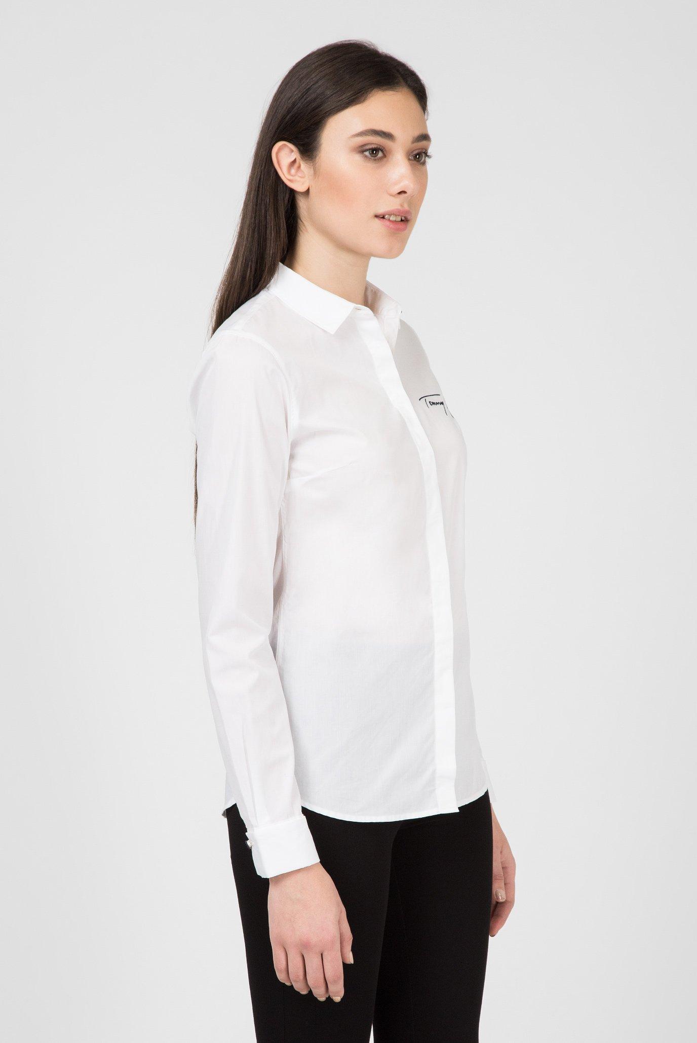 Купить Женская белая рубашка Tommy Hilfiger Tommy Hilfiger WW0WW22159 – Киев, Украина. Цены в интернет магазине MD Fashion