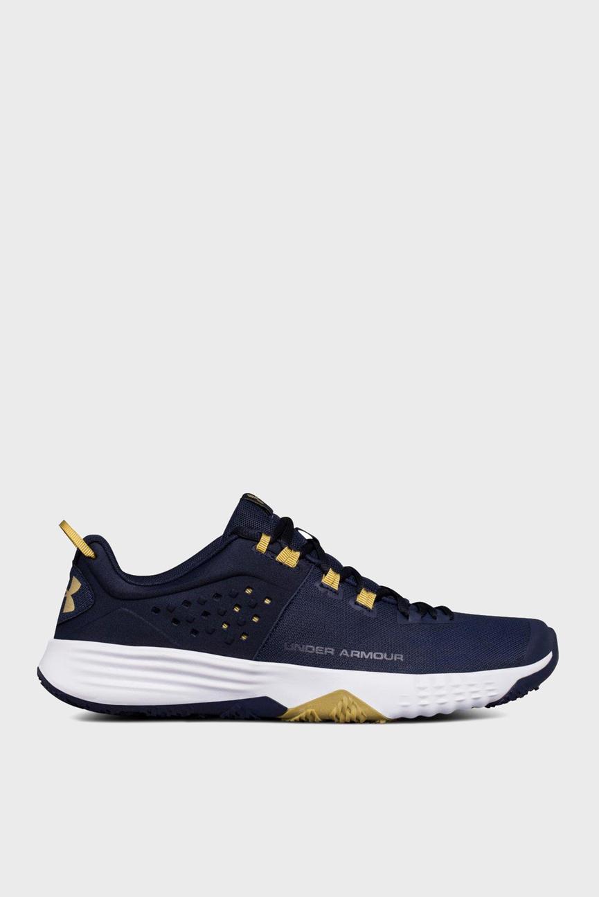 Мужские синие кроссовки UA BAM Trainer