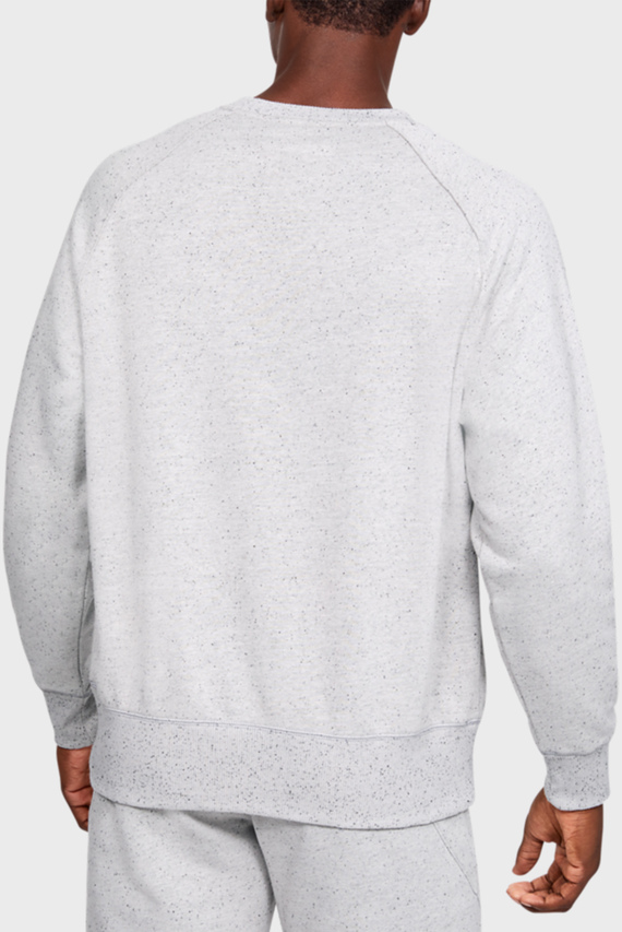 Мужской белый свитшот SPECKLED FLEECE CREW