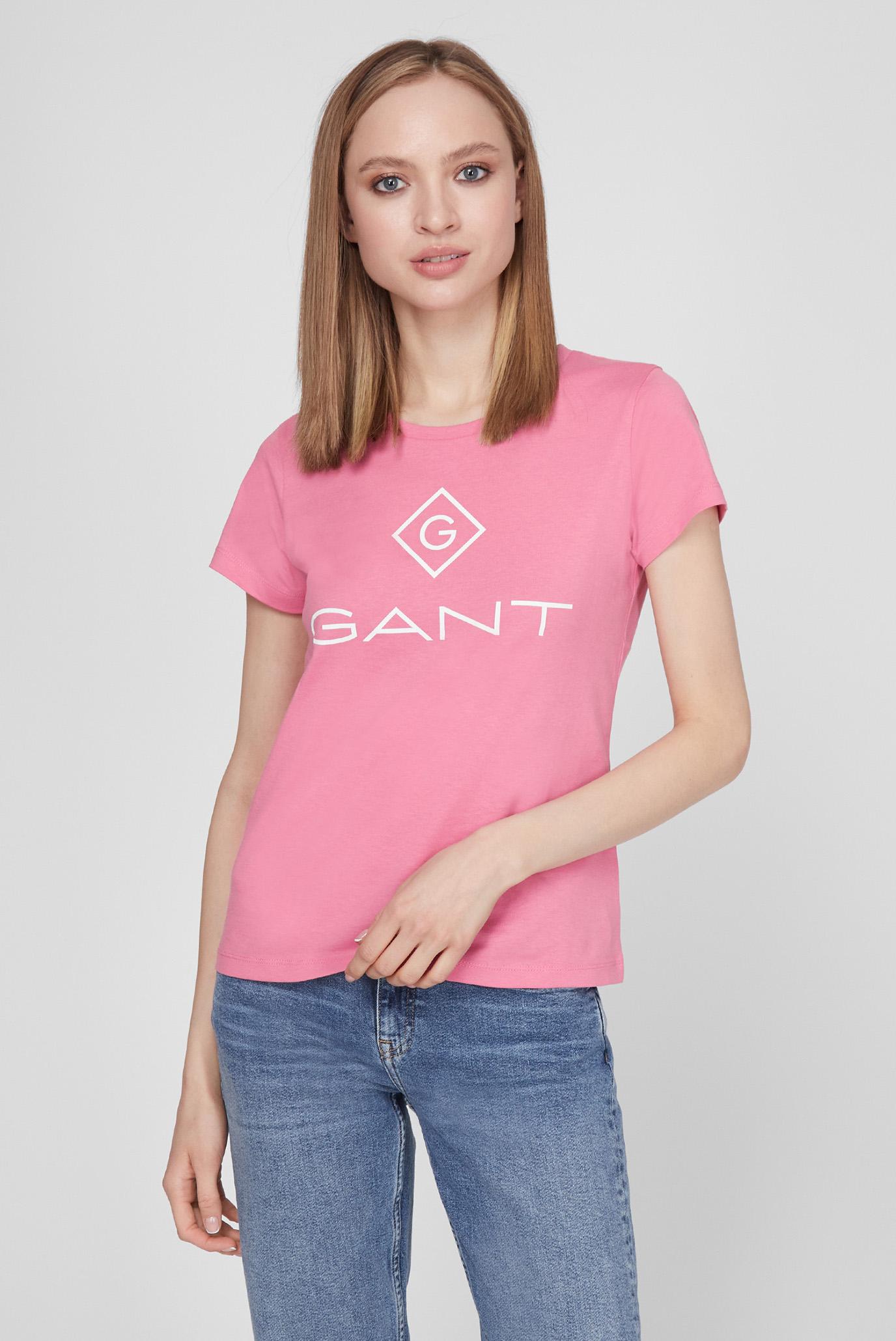 Женская розовая футболка LOCK UP SS T-SHIRT 1