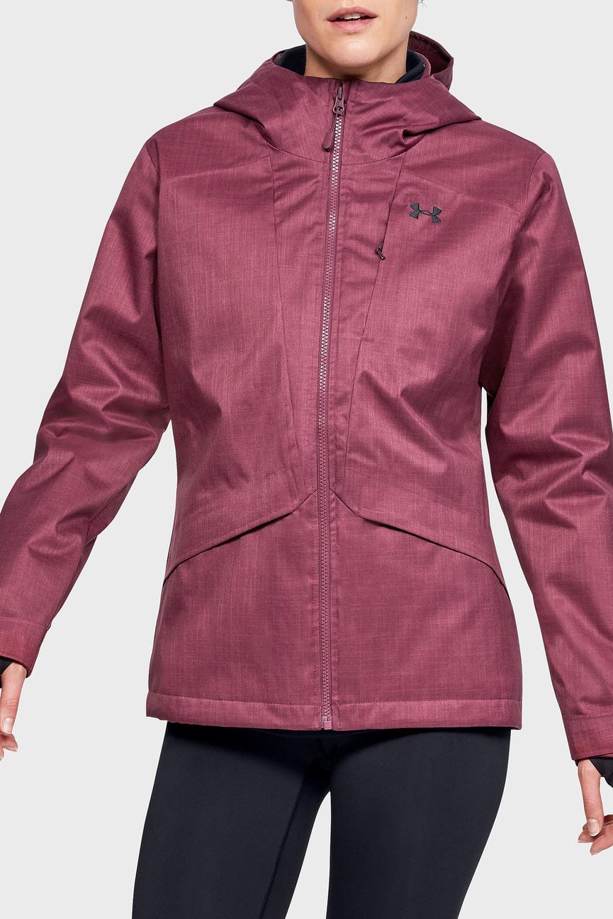 Женская малиновая куртка UA Sienna 3-in-1