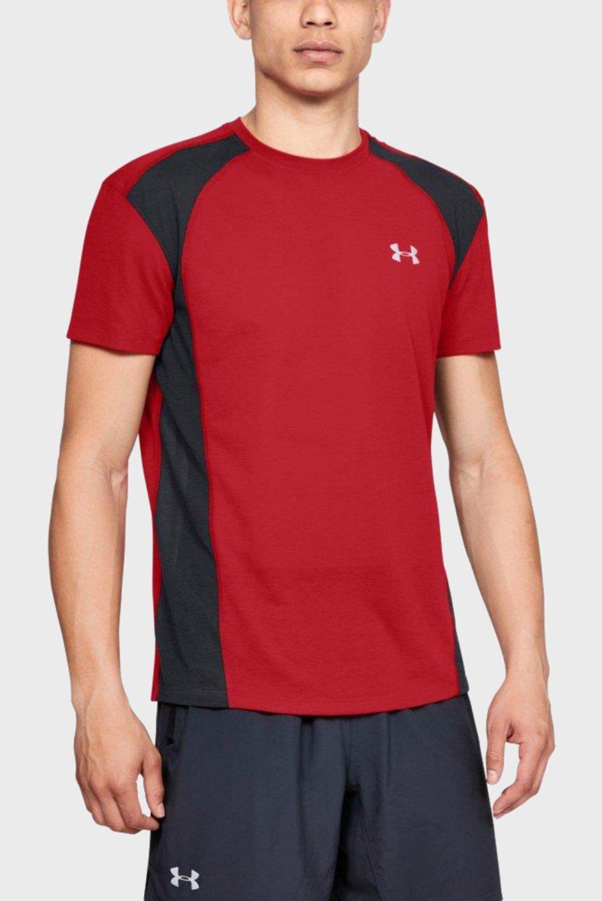 Мужская красная футболка STREAKER MESH