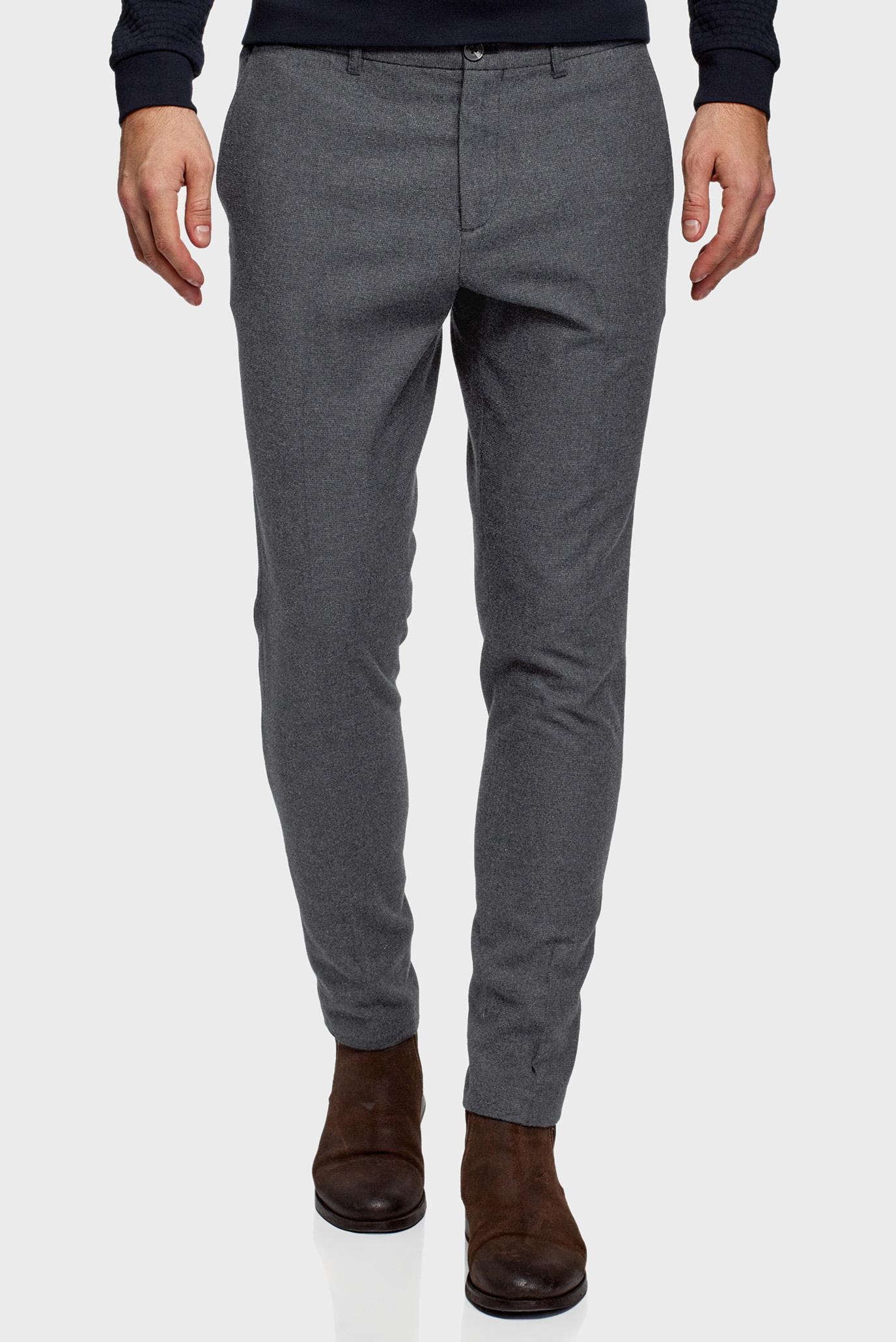 Мужские серые брюки 1