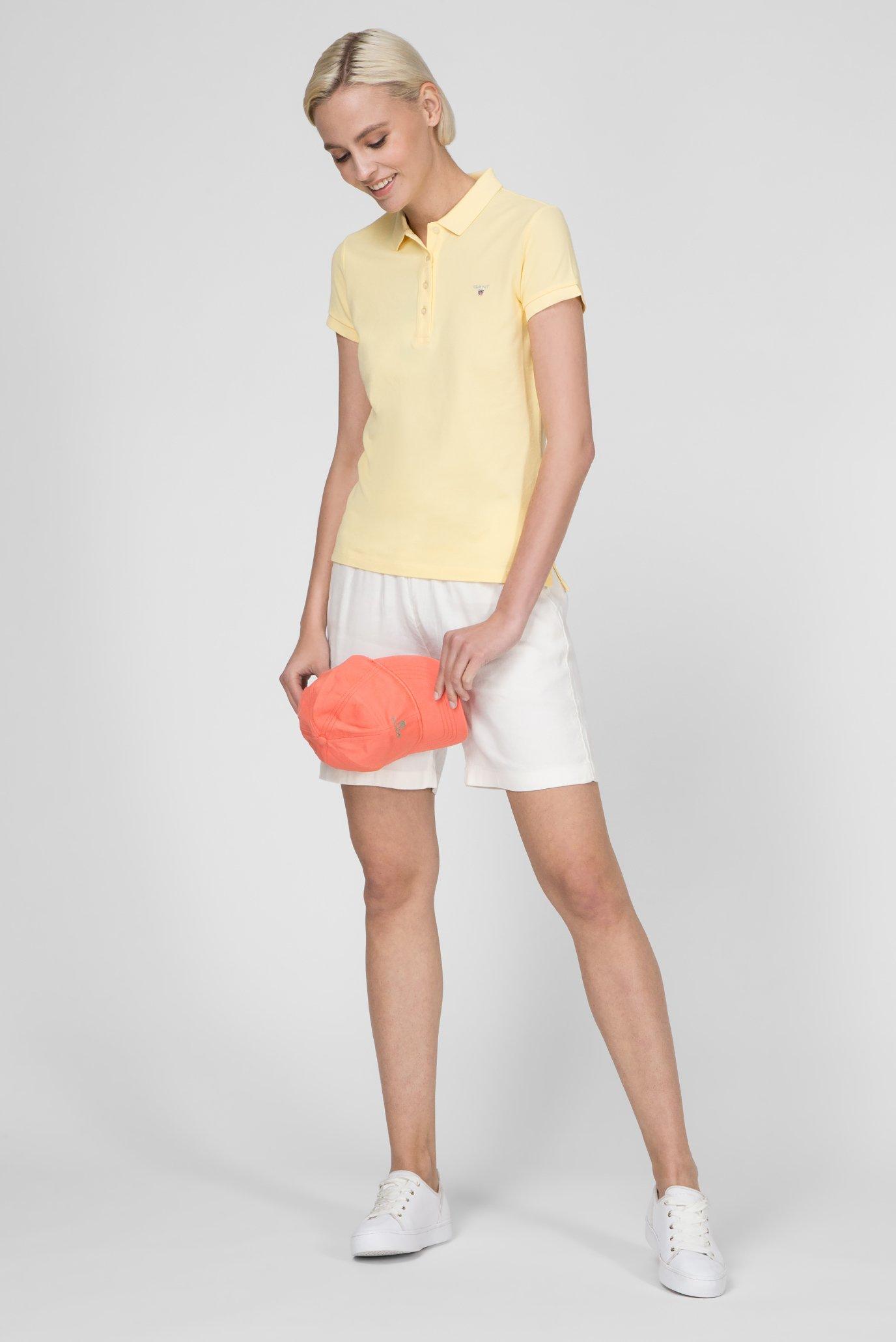 Женские белые шорты SUMMER Gant