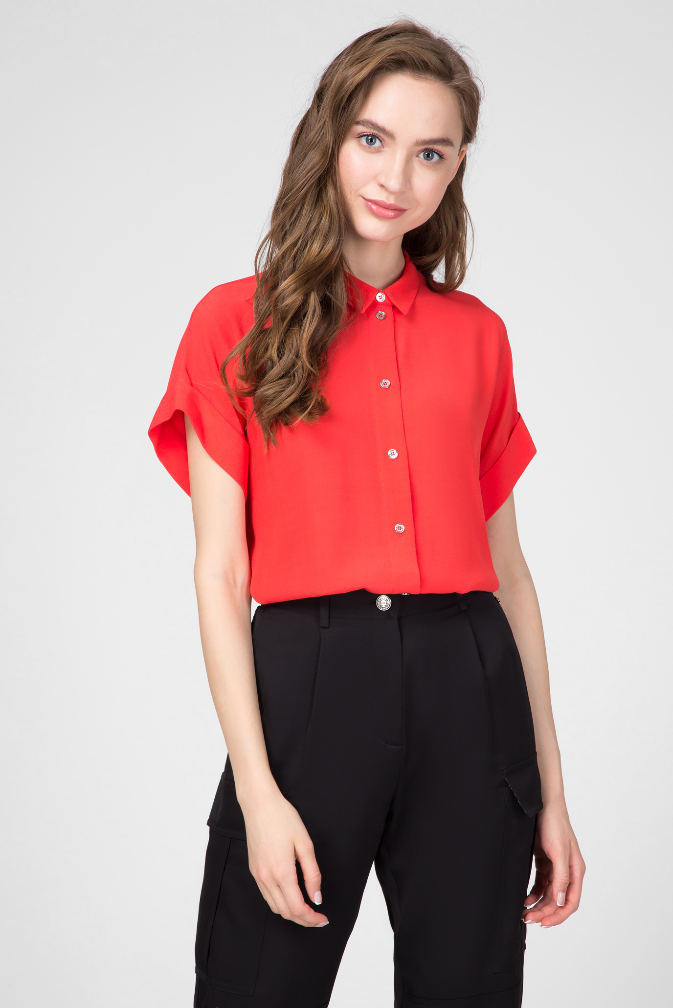 Женская красная блуза Calvin Klein