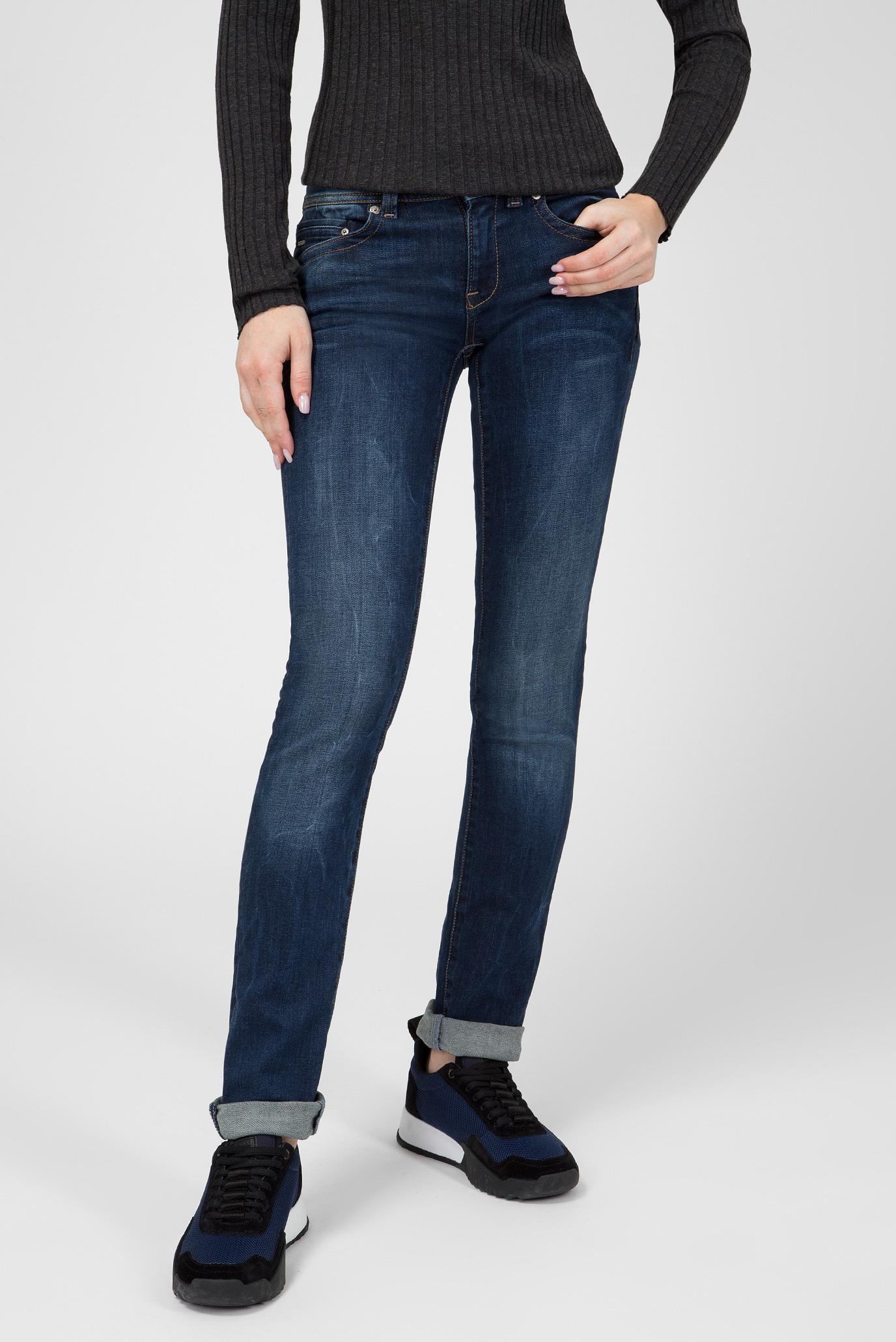 Купить Женские темно-синие джинсы Midge Saddle Mid Straight G-Star RAW G-Star RAW D02153,6553 – Киев, Украина. Цены в интернет магазине MD Fashion