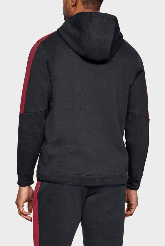 Мужская черная спортивная кофта Athlete Recovery Fleece Full Zip