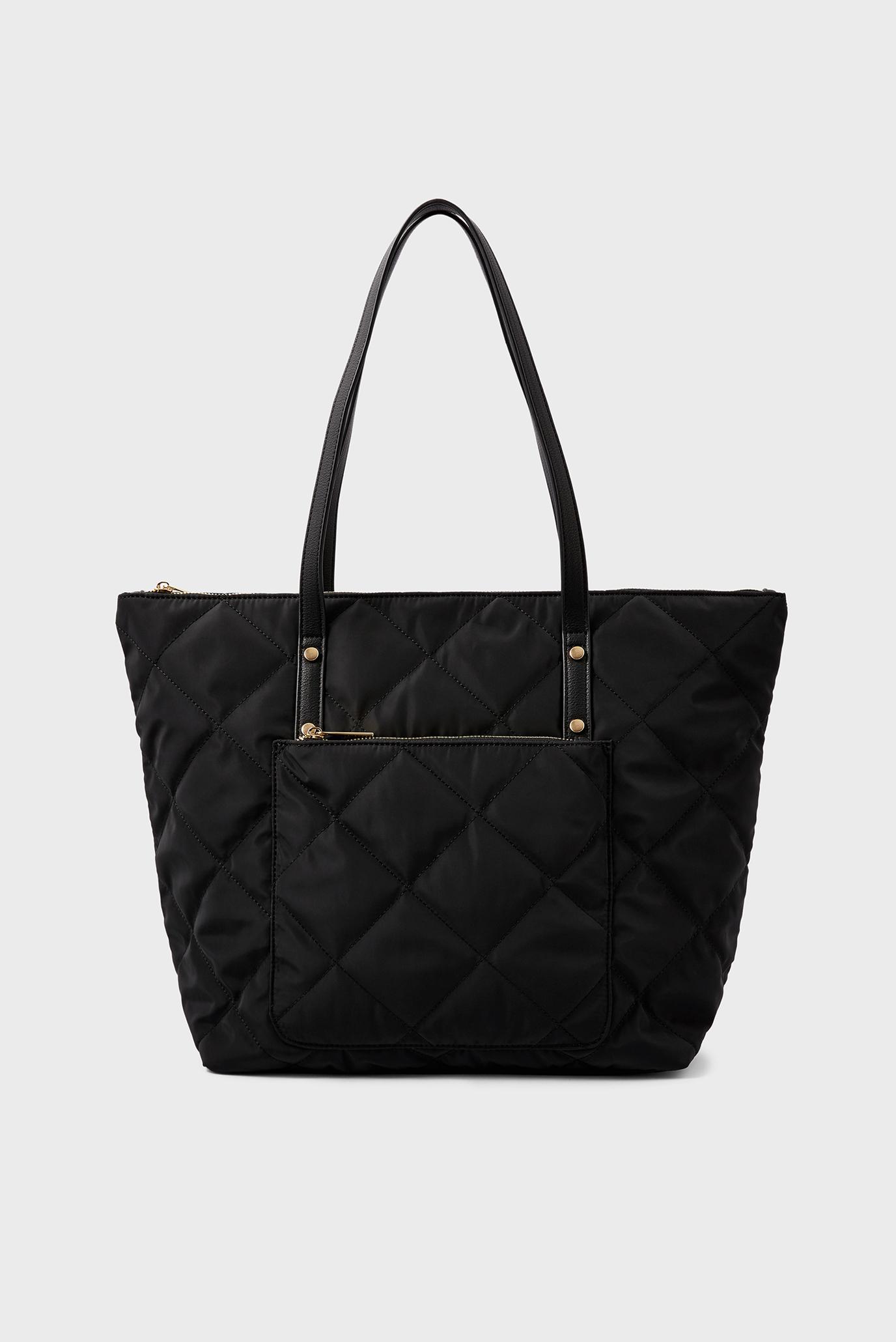 Женская черная сумка Tilly quilted 1