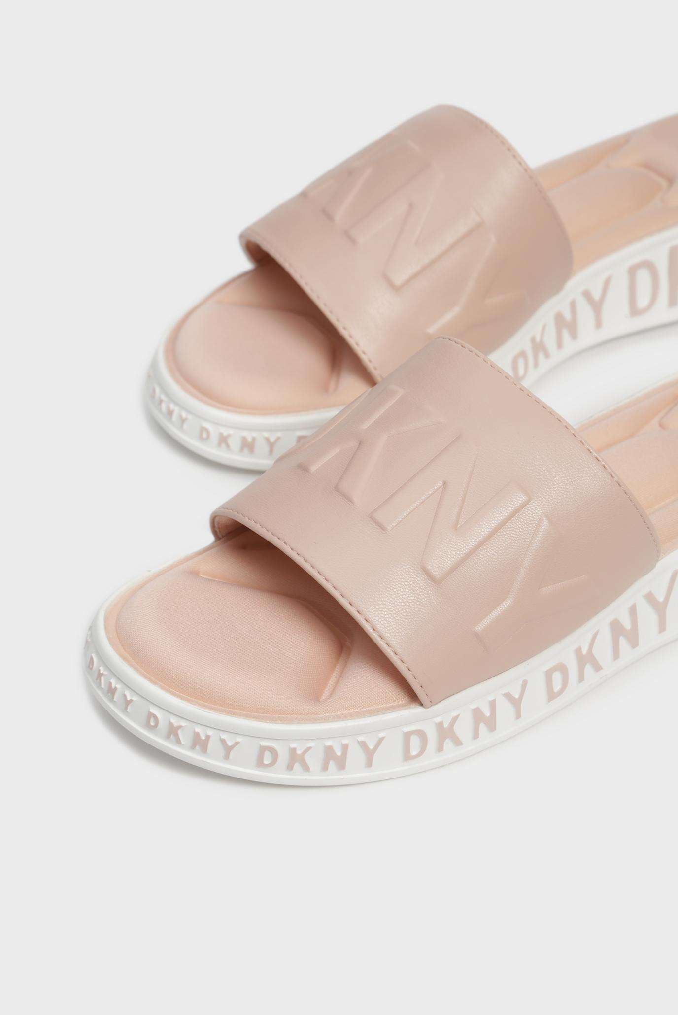 Купить Женские бежевые слайдеры MARA DKNY DKNY K1911176 – Киев, Украина. Цены в интернет магазине MD Fashion
