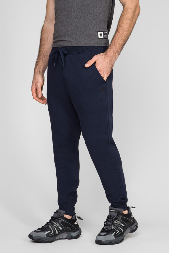 Мужские темно-синие спортивные брюки Premium core type