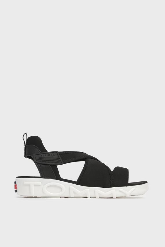 Женские черные сандалии HYBRID