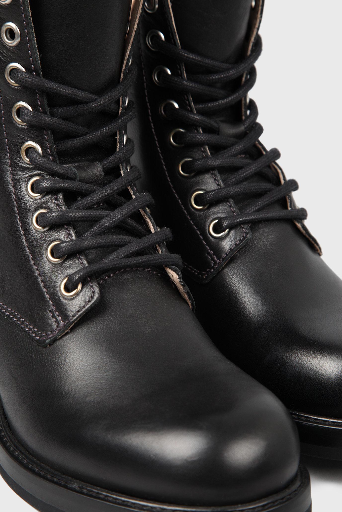 f10f6e5a87e7 Купить Женские кожаные ботинки Diesel Diesel Y01529 PR030 – Киев, Украина.  Цены в интернет магазине MD Fashion